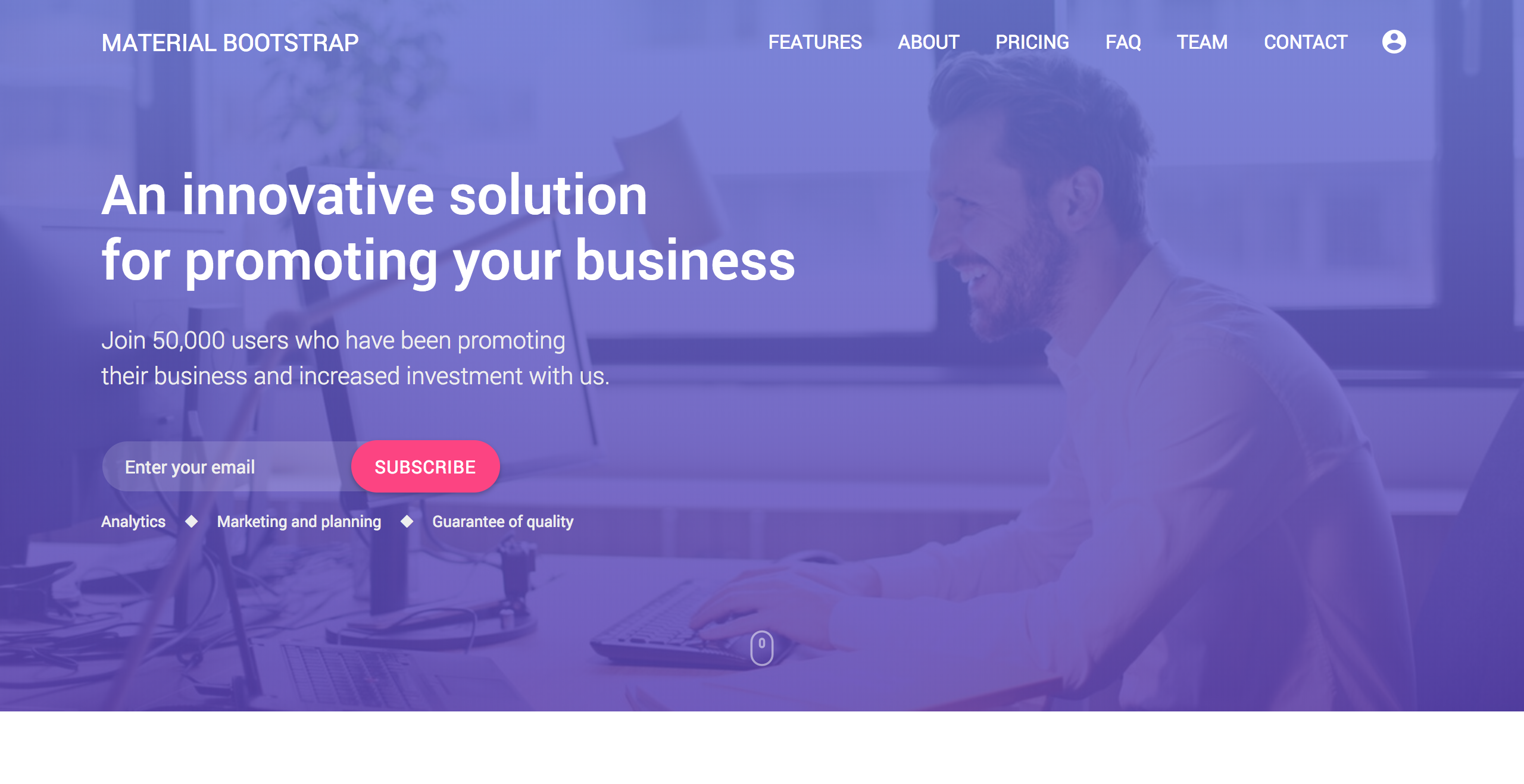 [40% OFF] Material Bootstrap PRO discount coupon code